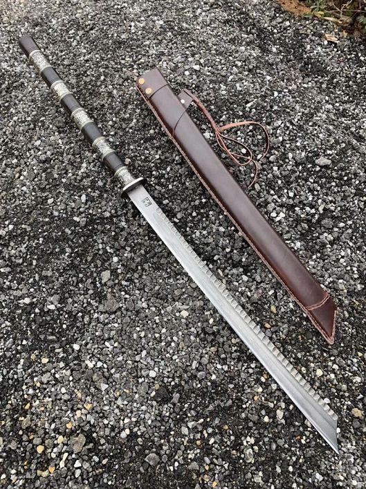 经典『户撒精品战刀』刀中之霸