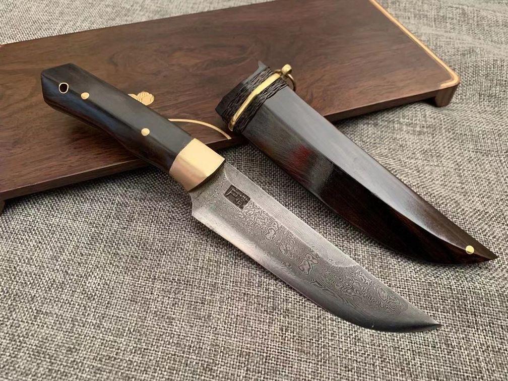 12月户撒新品来袭【锋影】手工百炼钢户外刀