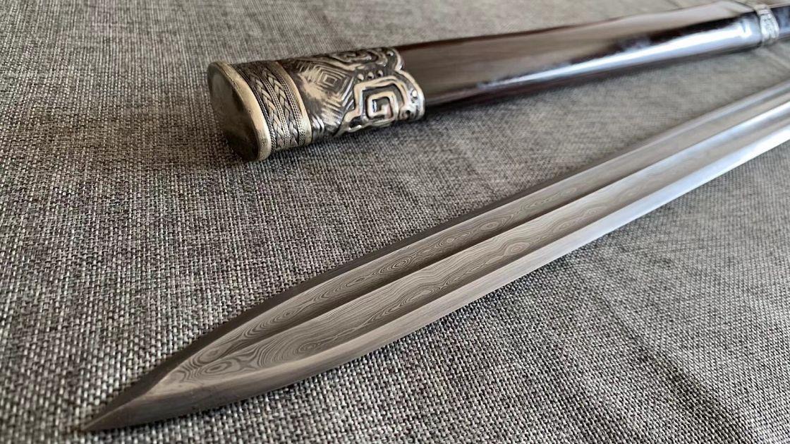 存世极少的西夏剑-户撒刀图片