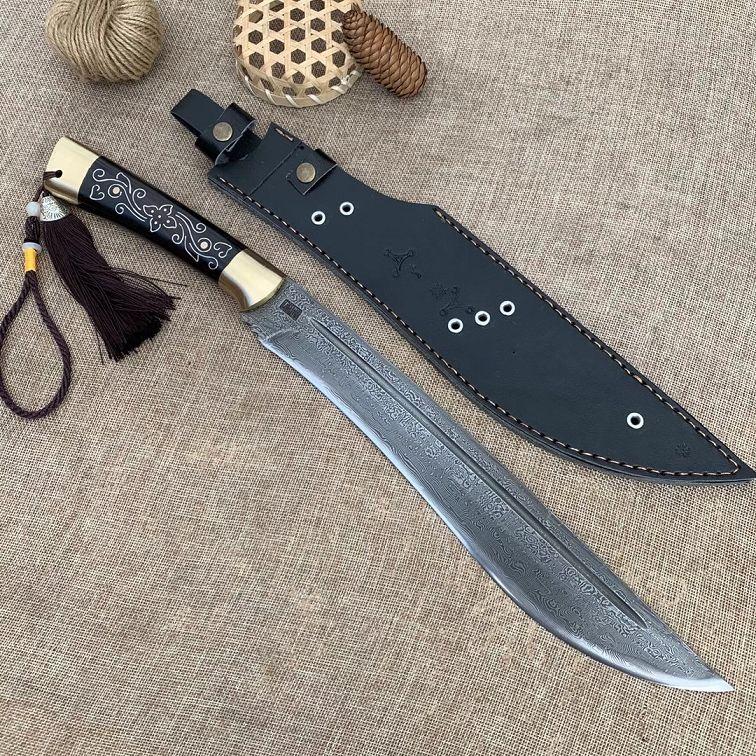 刀柄上的金属雕刻工艺