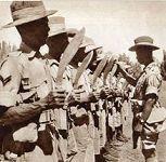 战争时期的廓尔喀军人