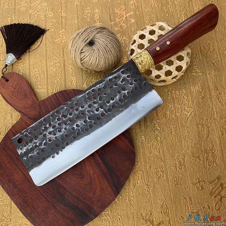 经典铜花女士蜂窝菜刀