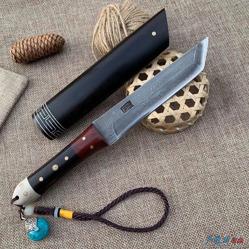 蒙古风唐刀型吃肉小刀