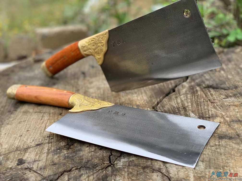户撒『百炼钢花纹厨刀』