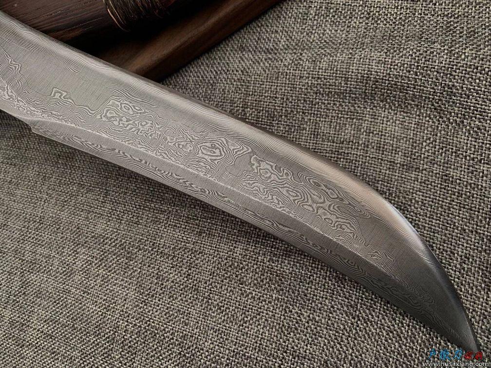 『鉴赏』户撒古典风鹿角大博弈刀